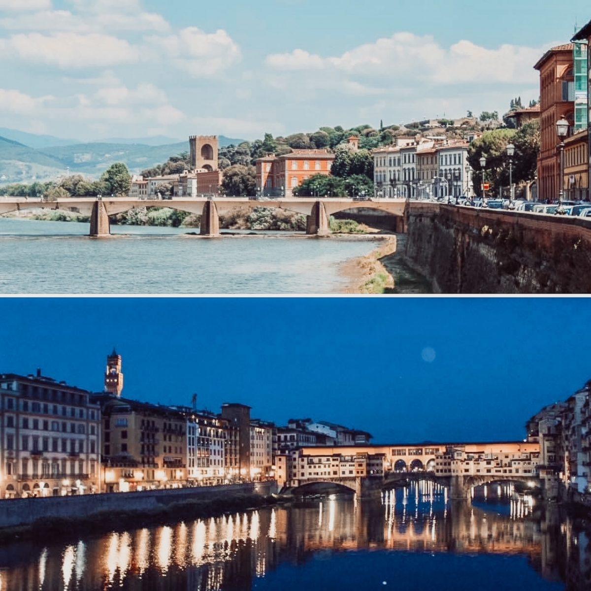 Bridges of Florence, Italy
