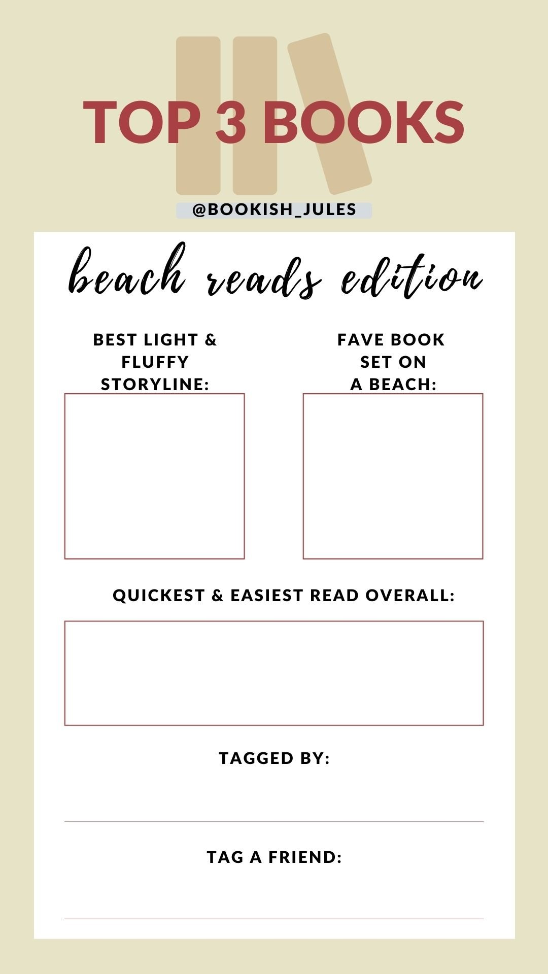 top 3 books beach reads edition